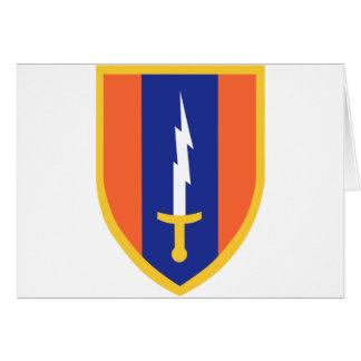 1st Signal Brigade Insignia Card