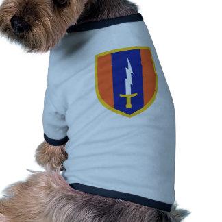 1st Signal Brigade Insignia Doggie T Shirt