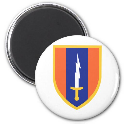 1st Signal Brigade Insignia Refrigerator Magnet