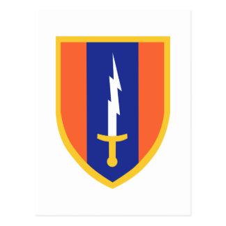1st Signal Brigade Insignia Postcards