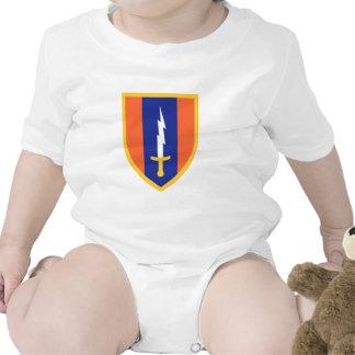 1st Signal Brigade Insignia Baby Creeper