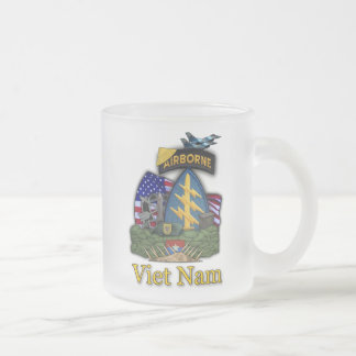 1st special forces green berets vietnam frosty Mug