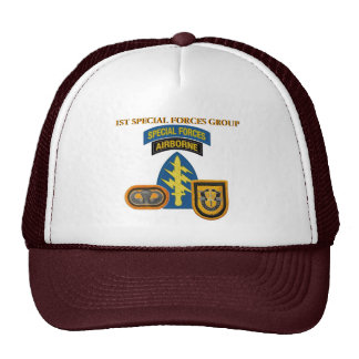 1ST SPECIAL FORCES GROUP HAT