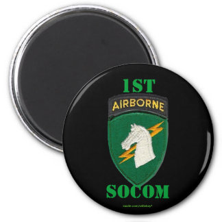 1st special operations command socom patch Magnet