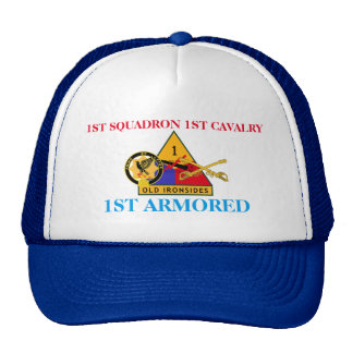 1ST SQUADRON 1ST CAVALRY 1ST ARMORED HAT