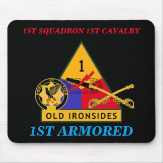 1ST SQUADRON 1ST CAVALRY 1ST ARMORED MOUSEPAD