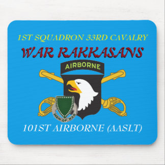 1ST SQUADRON 33RD CAVALRY 101ST ABN MOUSEPAD MOUSE PAD