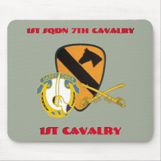 1ST SQUADRON 7TH CAVALRY 1ST CAVALRY MOUSEPAD