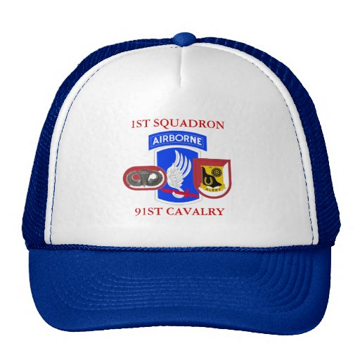1ST SQUADRON 91ST CAVALRY HAT