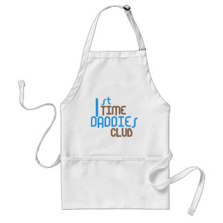 1st Time Daddies Club (Blue) Aprons