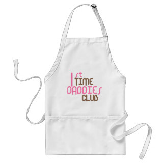 1st Time Daddies Club (Pink) Aprons