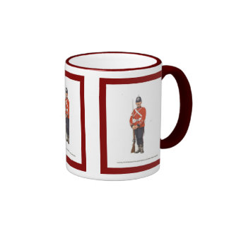 1st Volunteer Battalion, Royal Sussex Regiment Ringer Mug