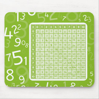 1x1 green mouse mat