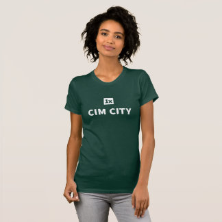 "1x Women's tea ""Cim town center "" T-Shirt"