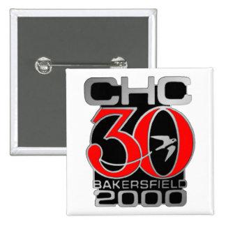 2000 Bakersfield 15 Cm Square Badge