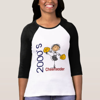 2000's Cheerleader Stick Figure T-Shirt
