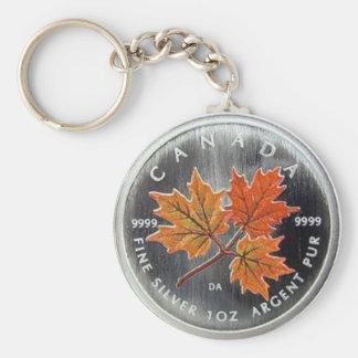 2001 Canada Silver Coin Keychain
