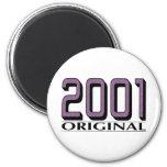 2001 Original Magnets