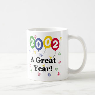 2002 A Great Year Birthday Coffee Mug