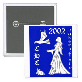 2002 Bakersfield 15 Cm Square Badge