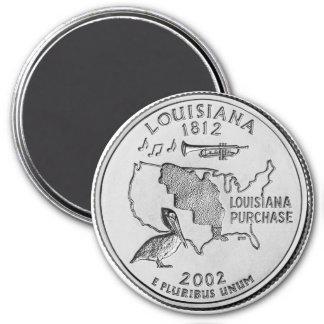2002 Louisiana State Quarter magnet