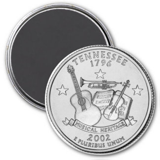 2002 Tennessee State Quarter magnet
