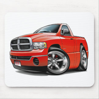 2003-08 Dodge Ram Red Truck Mouse Pad