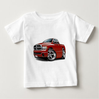 2003-08 Ram Quad Maroon Truck Baby T-Shirt