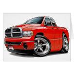 2003-08 Ram Quad Red Truck Cards