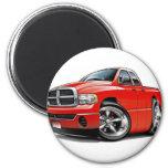 2003-08 Ram Quad Red Truck Fridge Magnet