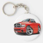 2003-08 Ram Quad Red Truck Keychain