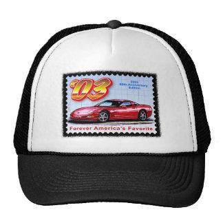 2003 50th Anniversary Corvette Trucker Hat