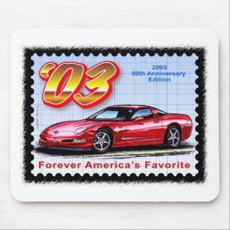 2003 50th Anniversary Corvette Mouse Pad