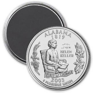 2003 Alabama State Quarter magnet