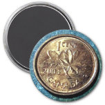 2003 Canadian Penny (Front) Magnet