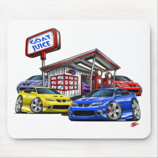 2004-06 GTO Gas Station Scene Mouse Mat