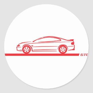 2004-06 GTO Red Car Stickers