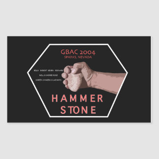 2004 Hammerstone Band Sticker