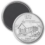 2004 Iowa State Quarter magnet