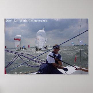 2004 J24 World Championships Poster