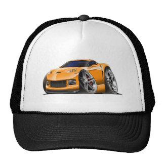 2005-09 Corvette Orange Car Mesh Hats