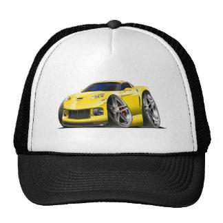 2005-09 Corvette Yellow Car Trucker Hat
