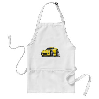 2005-09 Corvette Yellow Car Standard Apron