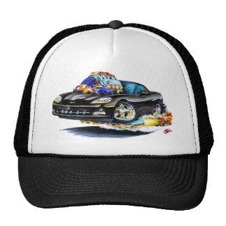 2005-10 Corvette Black Car Mesh Hats