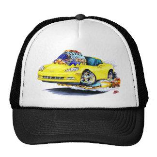 2005-10 Corvette Yellow Car Trucker Hat