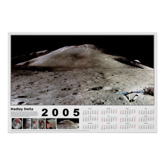 2005 Calendar: Hadley Delta Print