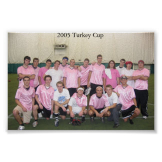 2005 Turkey Cup Poster