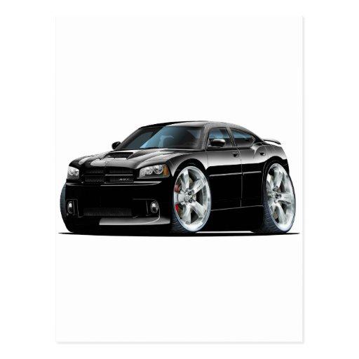 2006-10 Charger SRT8 Black Car Postcard