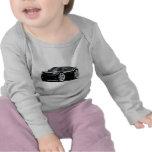 2006-10 Charger SRT8 Black Car Tshirt