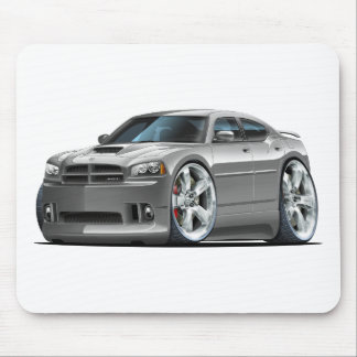 2006-10 Charger SRT8 Grey Car Mouse Pads
